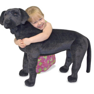 Gentle Giants - Black Lab Dog-0