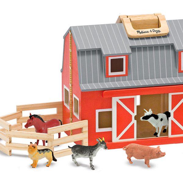 Fold and Go Barn - Melissa and Doug-103