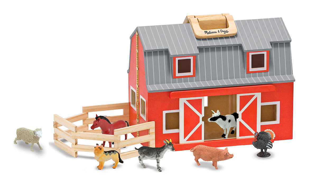 Fold and Go Barn - Melissa and Doug-103