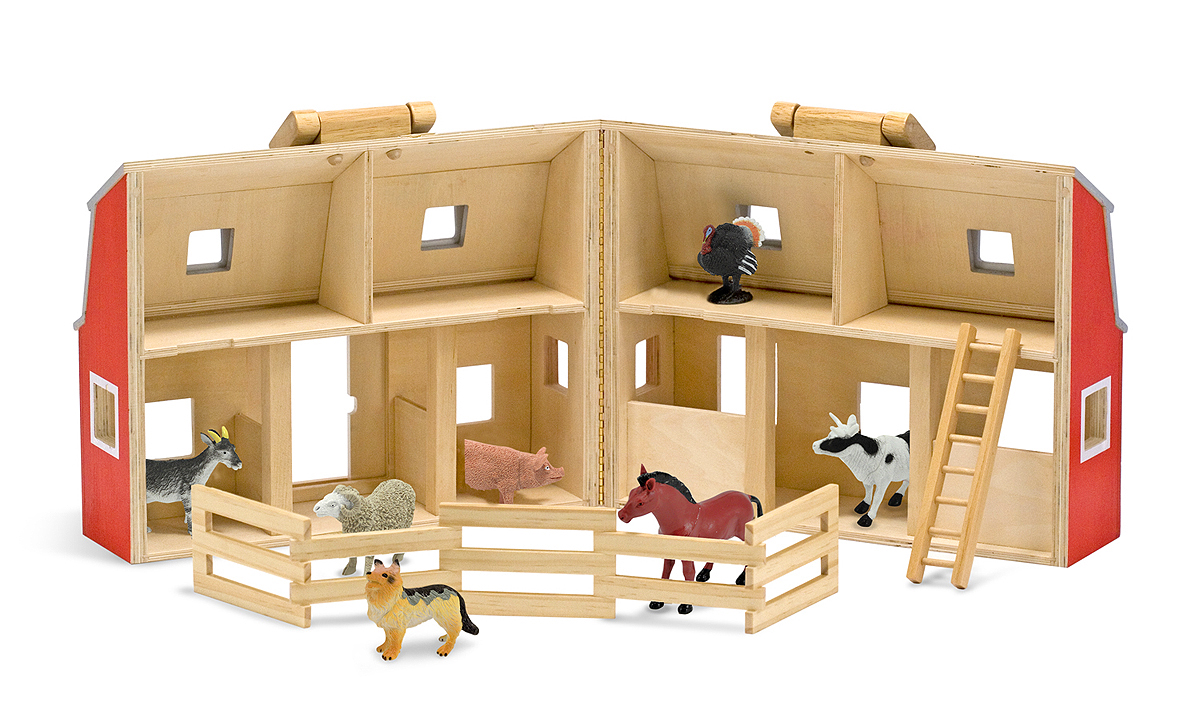 Fold And Go Barn Melissa And Doug