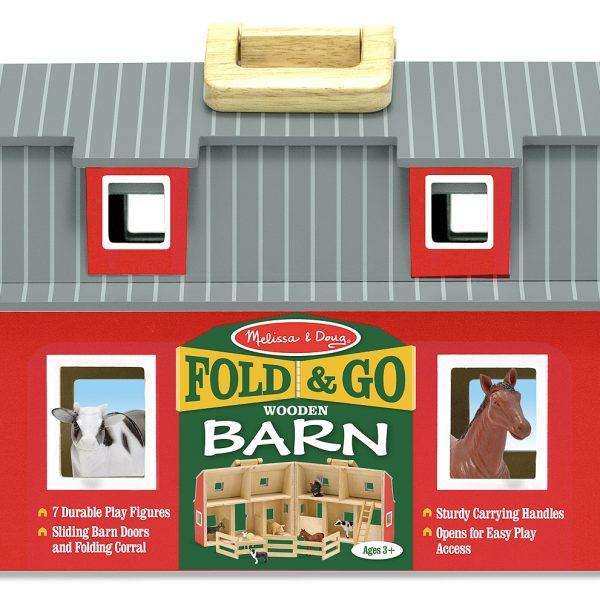 Fold and Go Barn - Melissa and Doug-102