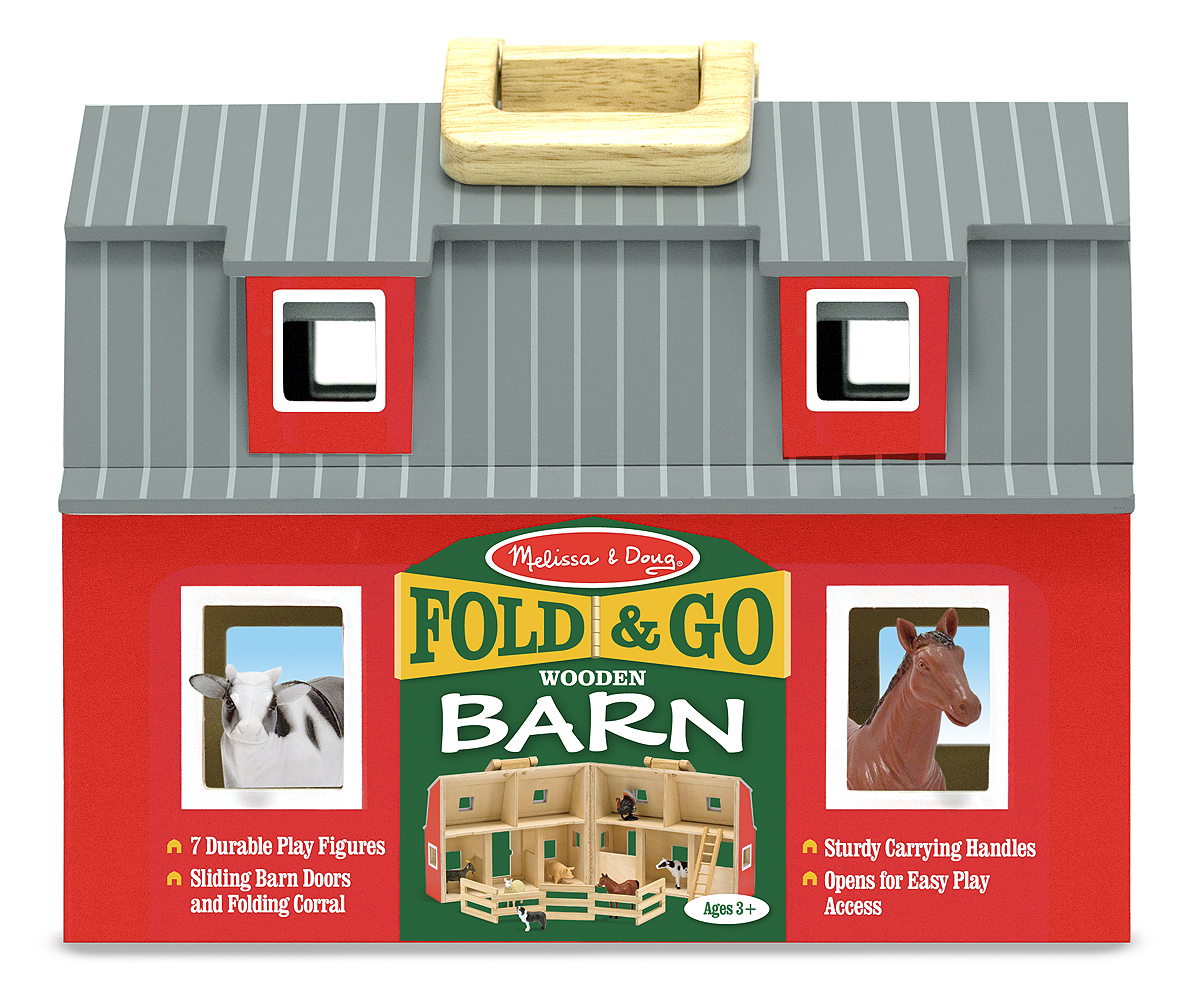 Fold and Go Barn - Melissa and Doug-102