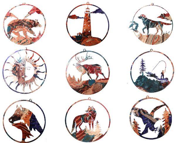 Animal Natures Metal Art-0