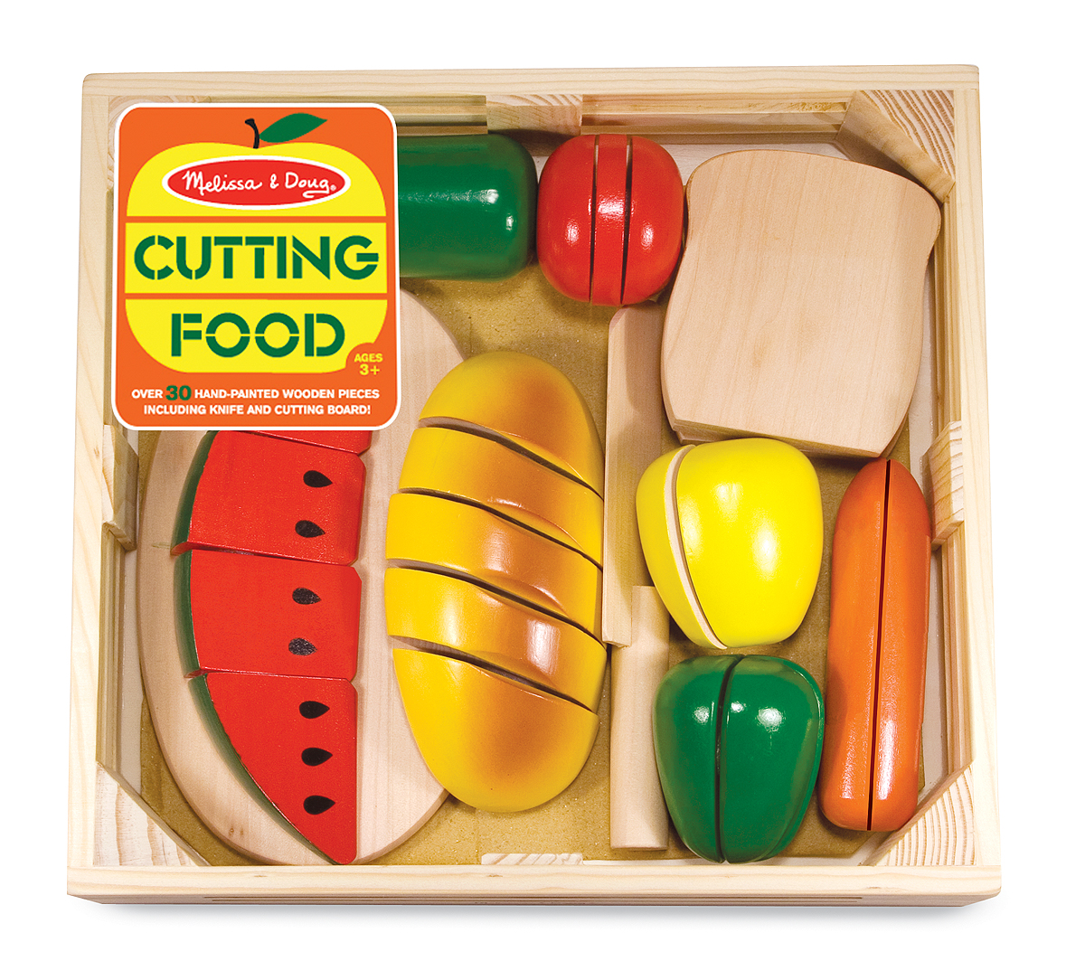 Wooden Cutting Fruit by Melissa & Doug-0