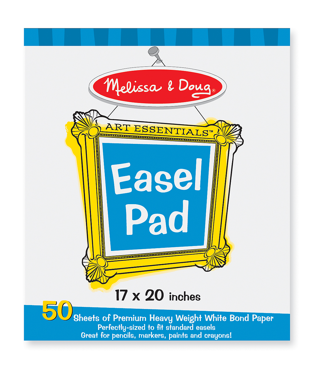 Easel Paper Pad by Melissa & Doug-0