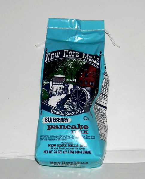 New Hope Mills Blueberry Pancake Mix - 3 - 1.5lb. Bags-0