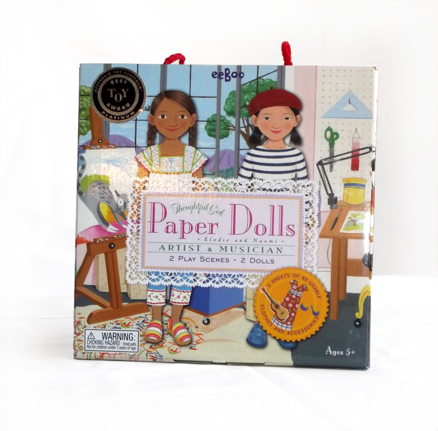 Paper Dolls - Elodie and Naomi - Artist and Musician-0