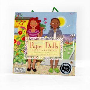Paper Dolls - Sasha and Jasmine - Explorer and Naturalist-0