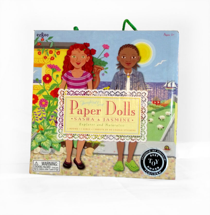 Paper Dolls - Sasha and Jasmine - Explorer and Naturalist-0