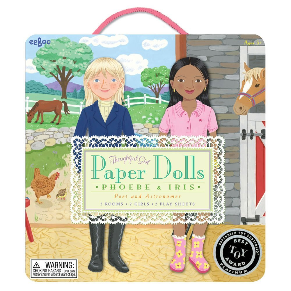 Paper Dolls - Phoebe and Iris - Poet and Astronomer-0