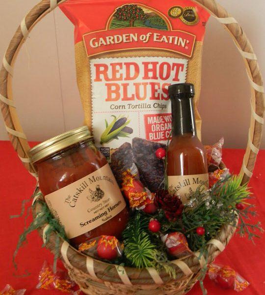 Hot! Hot! Hot! Gift Basket