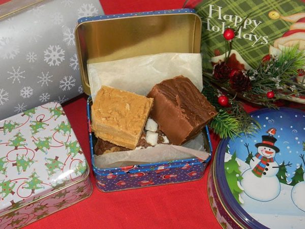 Sydney's Homemade Fudge Holiday Gift Tin-0