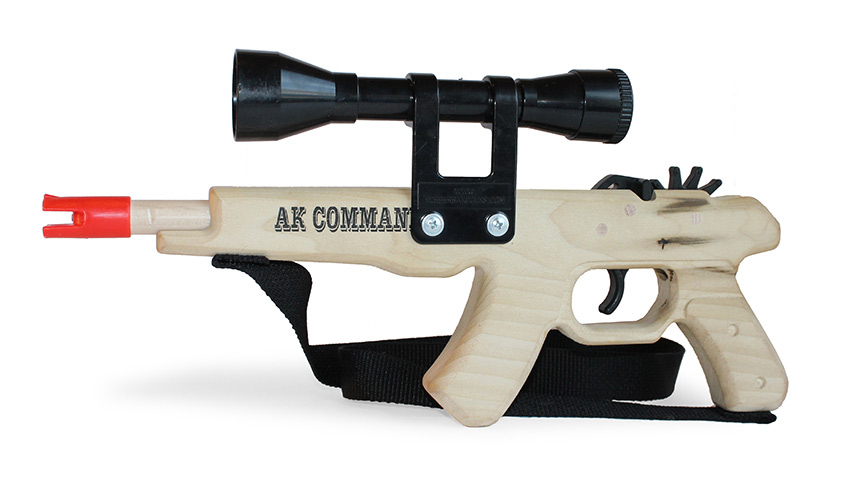 Magnum Rubber Band Gun - AK Commando-0