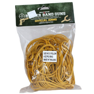 Rubber Band Ammo - Yellow-0