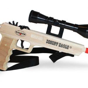 Magnum Rubber Band Gun - Desert Eagle-0
