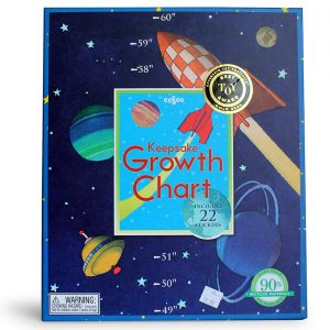 Space Keepsake Growth Chart-0