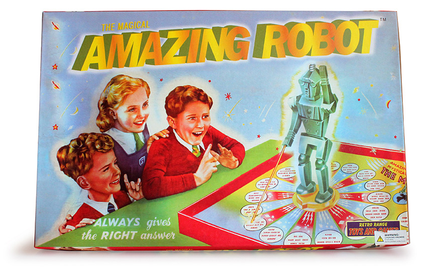 The Magical Amazing Robot Board Game-0