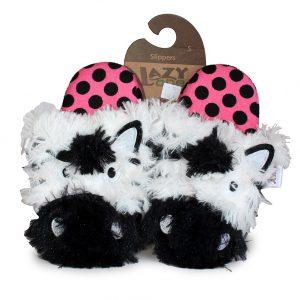 Critter Slippers - Zebra-0