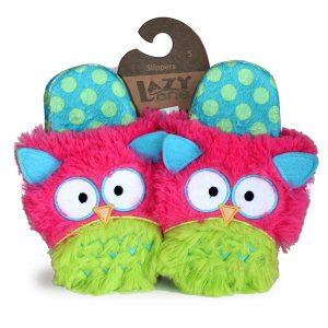 Critter Slippers - Owl-0
