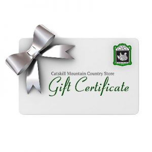 Catskill Mountain Country Store Gift Certificate