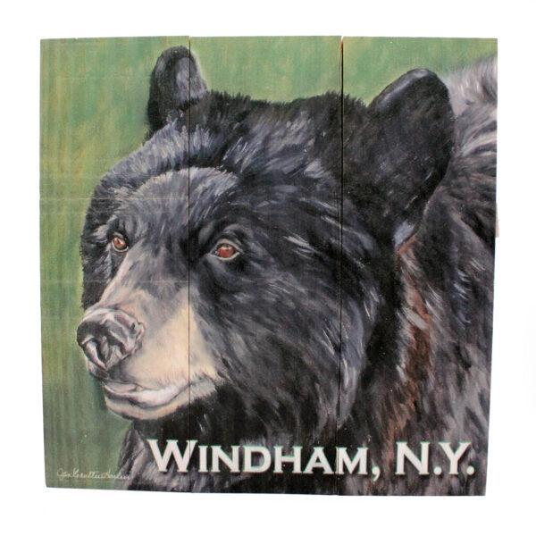 Bear Sign, Green