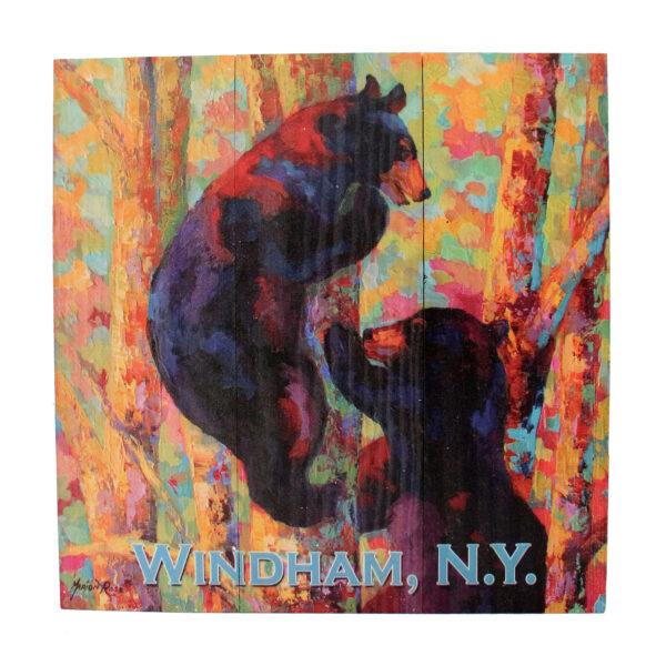 Bear Sign w/ 2 Bears