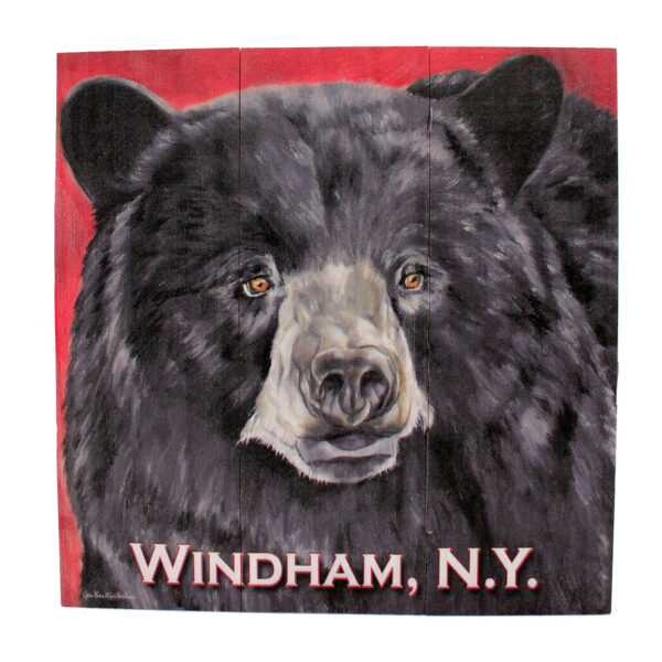 Bear Sign, Red