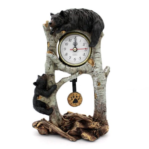 Birch Bear Clock