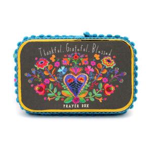 Thankful. Grateful. Blessed. Prayer Box