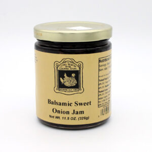 Balsamic Sweet Onion Jam - Front