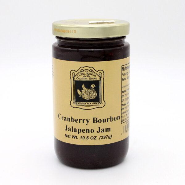 Cranberry Bourbon Jalapeno Jam - Front
