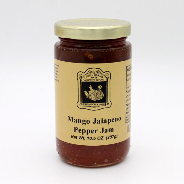 Mango Jalapeno Pepper Jam - Front