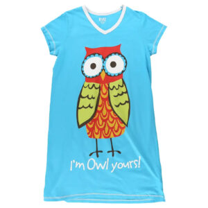 lazy one nightshirt owl yours