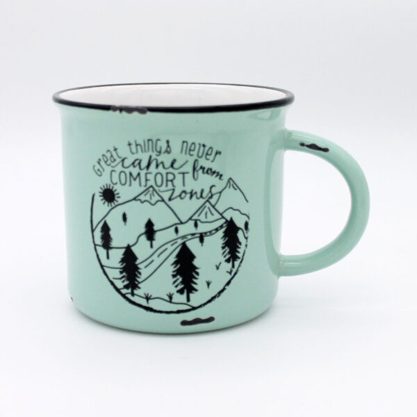 mug great things comfort zone