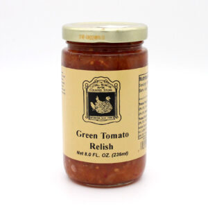 Green Tomato Relish - Front